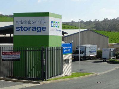 Adelaide Hills Storage Entrance