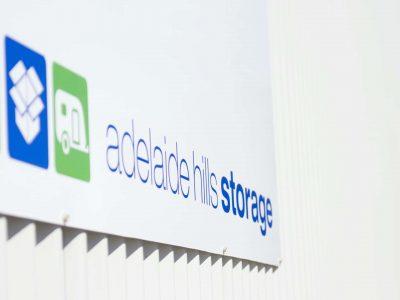 Adelaide Hills Storage Signage